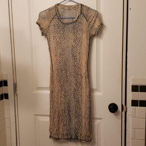 Sandwich Ladies Dress